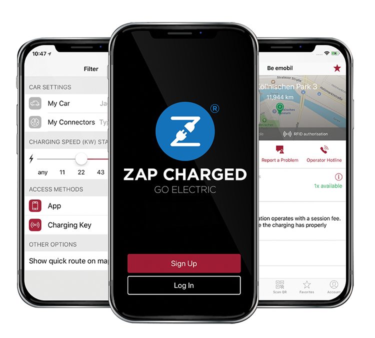 Zap Charged Application Warwickshire